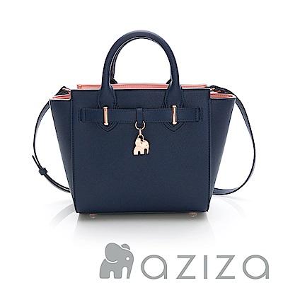 AZIZA  CLORIS  2way蝙蝠包-藍