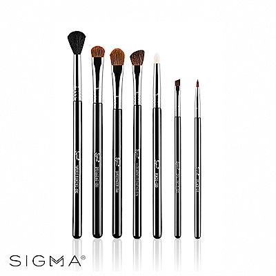 Sigma 基礎眼部彩妝化妝刷具七件組 Basic Eyes Kit