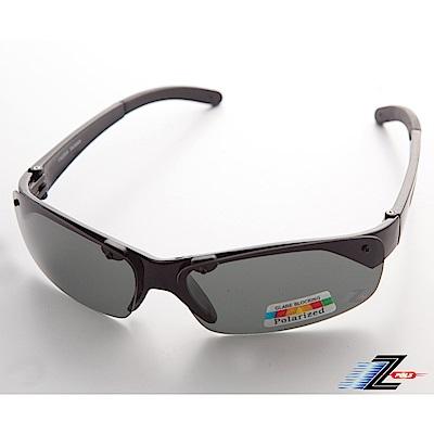 【Z-POLS】專業黑Polarized頂級抗UV400運動偏光太陽眼鏡