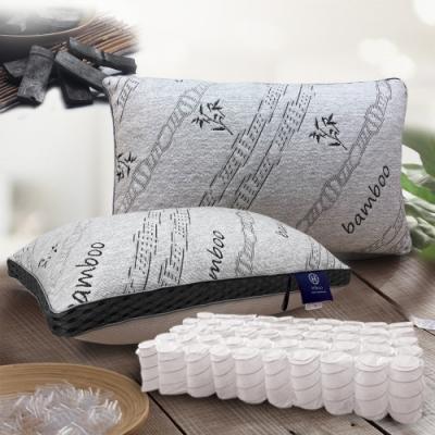 Hilton希爾頓 五星級酒店 3D透氣天然竹炭枕 買一送一