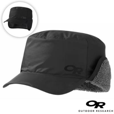 Outdoor Research 新款 WRIGLEY CAP 內刷毛保暖覆耳帽子/棒球帽(可遮耳)_風暴灰