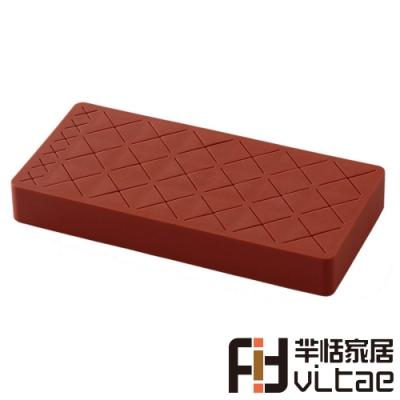 Fit Vitae羋恬家居 生巧克力造型18+6格化妝品收納架