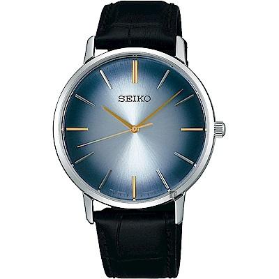 SEIKO 精工 SPIRIT 紳仕品格石英錶(SCXP125J)-漸層藍/38mm