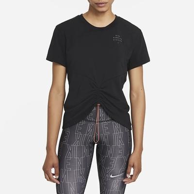Nike Dri-FIT Run Division 女短袖上衣-黑-DD5316010