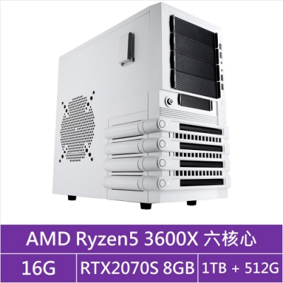 (無卡分期12期)華碩X570平台[馭神炎龍]R5六核RTX2070S獨顯電玩機