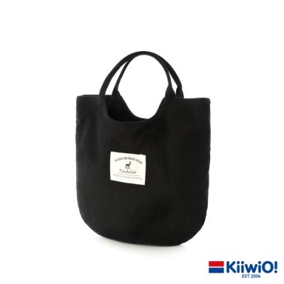 Kiiwi O! 實用設計感帆布手提包A5 ok! (多色選)