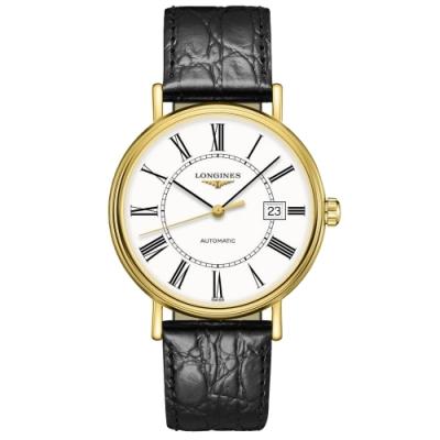 LONGINES 浪琴 Presence 羅馬機械錶-40mm L49222112