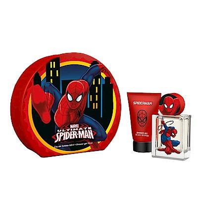 MARVEL SPIDER-MAN蜘蛛人淡香水禮盒(淡香水50ml+沐浴膠75ml)