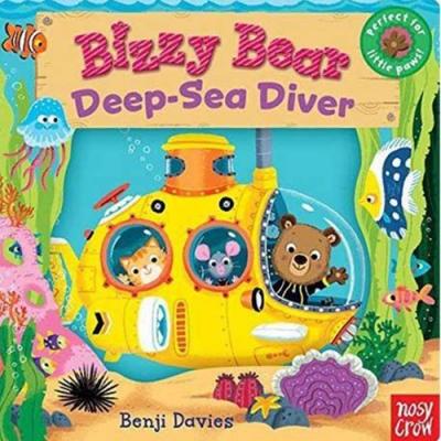 Bizzy Bear:Deepsea Diver 熊熊開潛水艇新奇操作書(美國版)