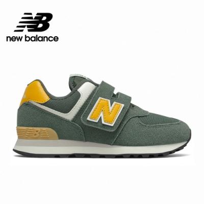【New Balance】童鞋_中性_墨綠_PV574MP2-W楦