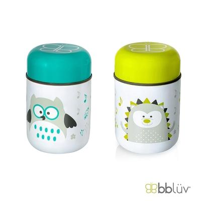 【bbluv】不鏽鋼食物保溫罐 附折疊湯匙 (共 2 款可選)