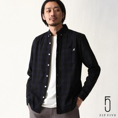 ZIP日本男裝 KANGOL聯名款釦領襯衫(10色)