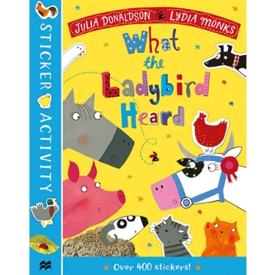 What The Ladybird Heard Sticker Activity Book 瓢蟲的農場守護記貼紙書