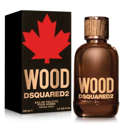 DSQUARED2 WOOD 天性男性淡香水100ml