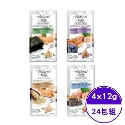 Natural Kitty自然小貓 超級食物配方肉泥系列 (4種口味) 4 X 12g (24包組)