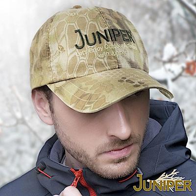 JUNIPER 水洗復古蟒紋印刷運動帽