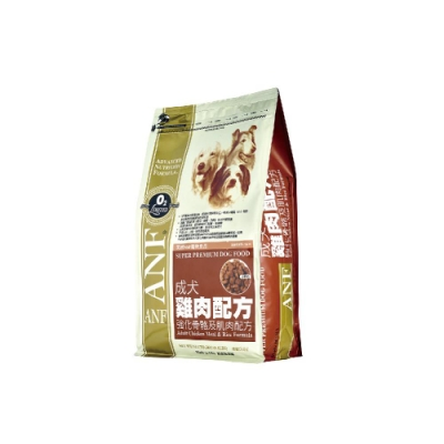【ANF 愛恩富】成犬雞肉配方〈大顆粒〉3KG