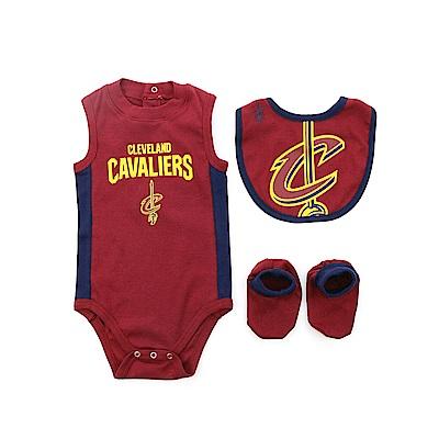 NBA 新生兒包屁衣組合 騎士隊