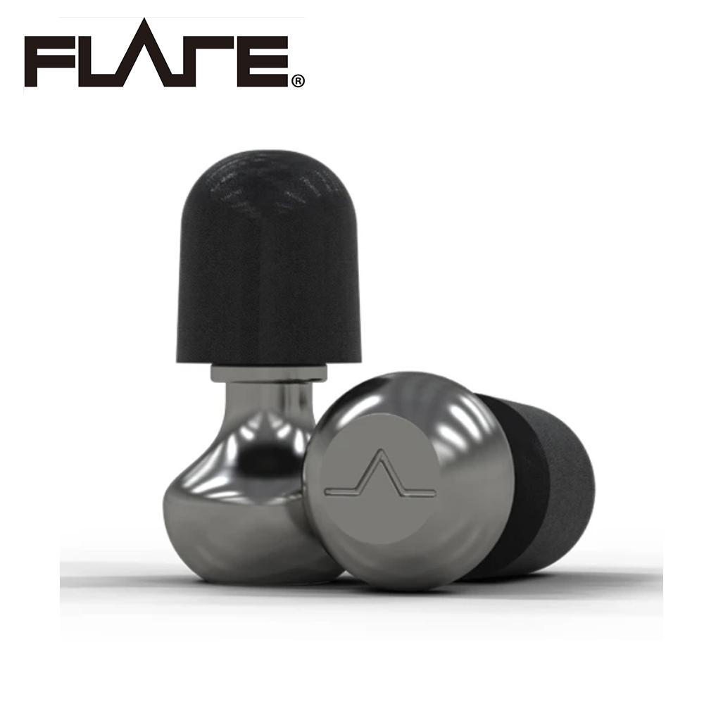 Flare Isolate 2 系列 TI1 鈦金屬專業級英國防躁耳塞 MAC 霧面科技銀色款