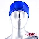 泳帽 休閒戲水高彈力布面泳帽(藍F) AngelHoney天使霓裳