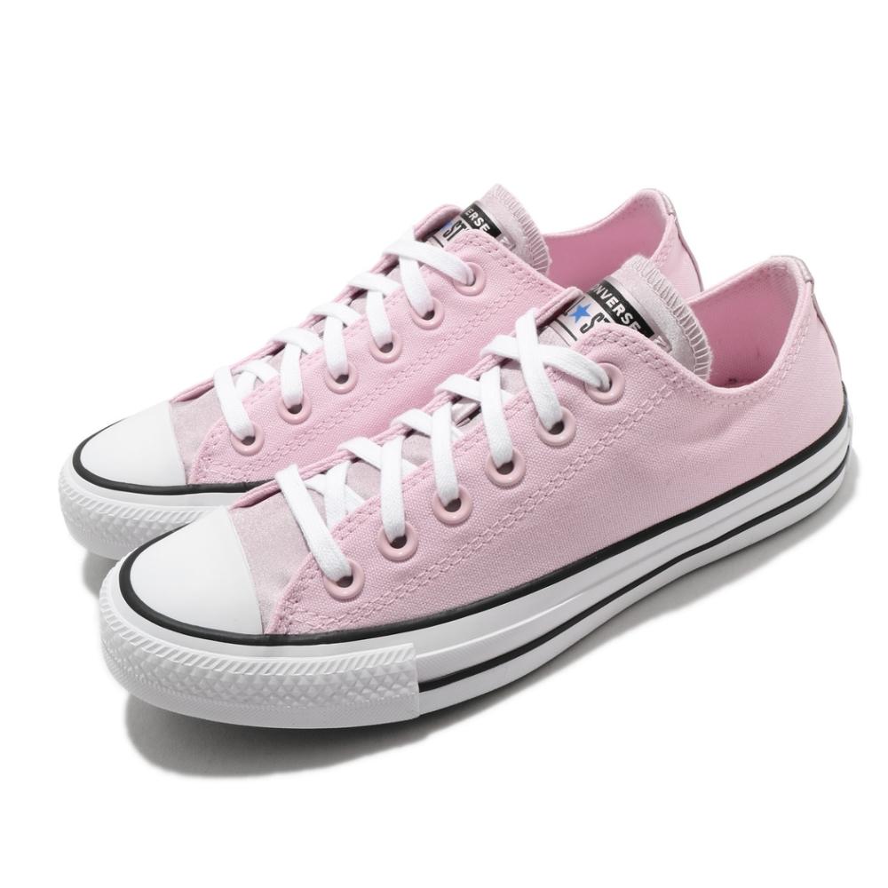 Converse 休閒鞋 All Star 低筒 穿搭 女鞋 基本款 簡約 帆布 舒適 球鞋 粉 白 570288C
