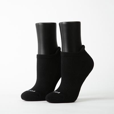 Footer除臭襪-素色美學氣墊防磨船短襪(女襪-K32M)