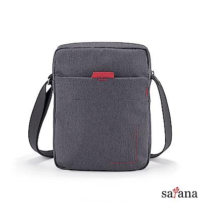 satana - Fresh 輕職人行動側背包 - 麻花黑
