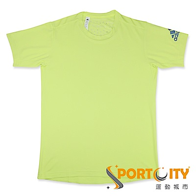 ADIDAS -男短袖上衣-CE0821-螢光綠