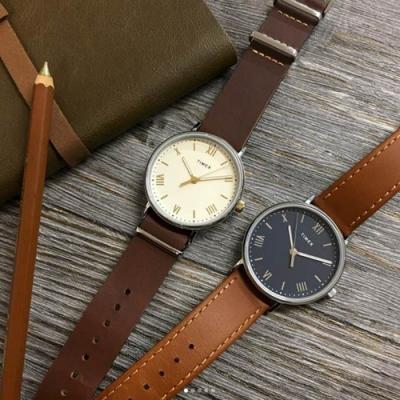 [時時樂限定]TIMEX 天美時 風格系列 羅馬字手錶-兩色任選