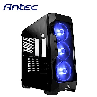 Antec 安鈦克 DF500 RGB ATX 玻璃透側 中塔式 電腦機殼