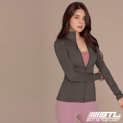STL Essence Jacket 韓國 運動機能合身立領外套 本質摩卡