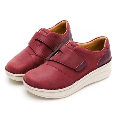 LA NEW DOUBLE AIR 氮氣墊手縫休閒鞋(女227020955)