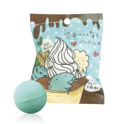 日本NOL-Cute Dinosaurs LINE貼圖入浴球1入(附可愛公仔/聖誕禮物/交換禮物)