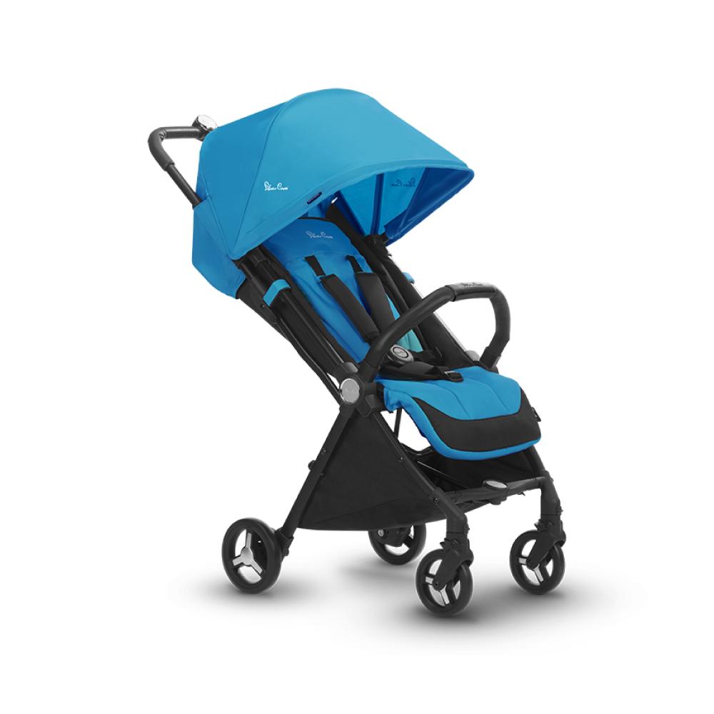 Silver Cross Jet小空巴 輕量秒收 可登機 可平躺 嬰兒手推車 0m+(知更藍)