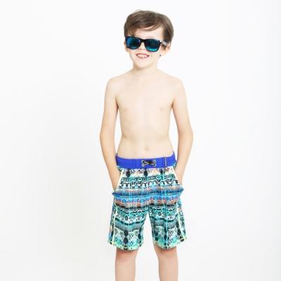 澳洲Sunseeker泳裝抗UV防曬海灘褲泳褲-大男童-4192011BLU