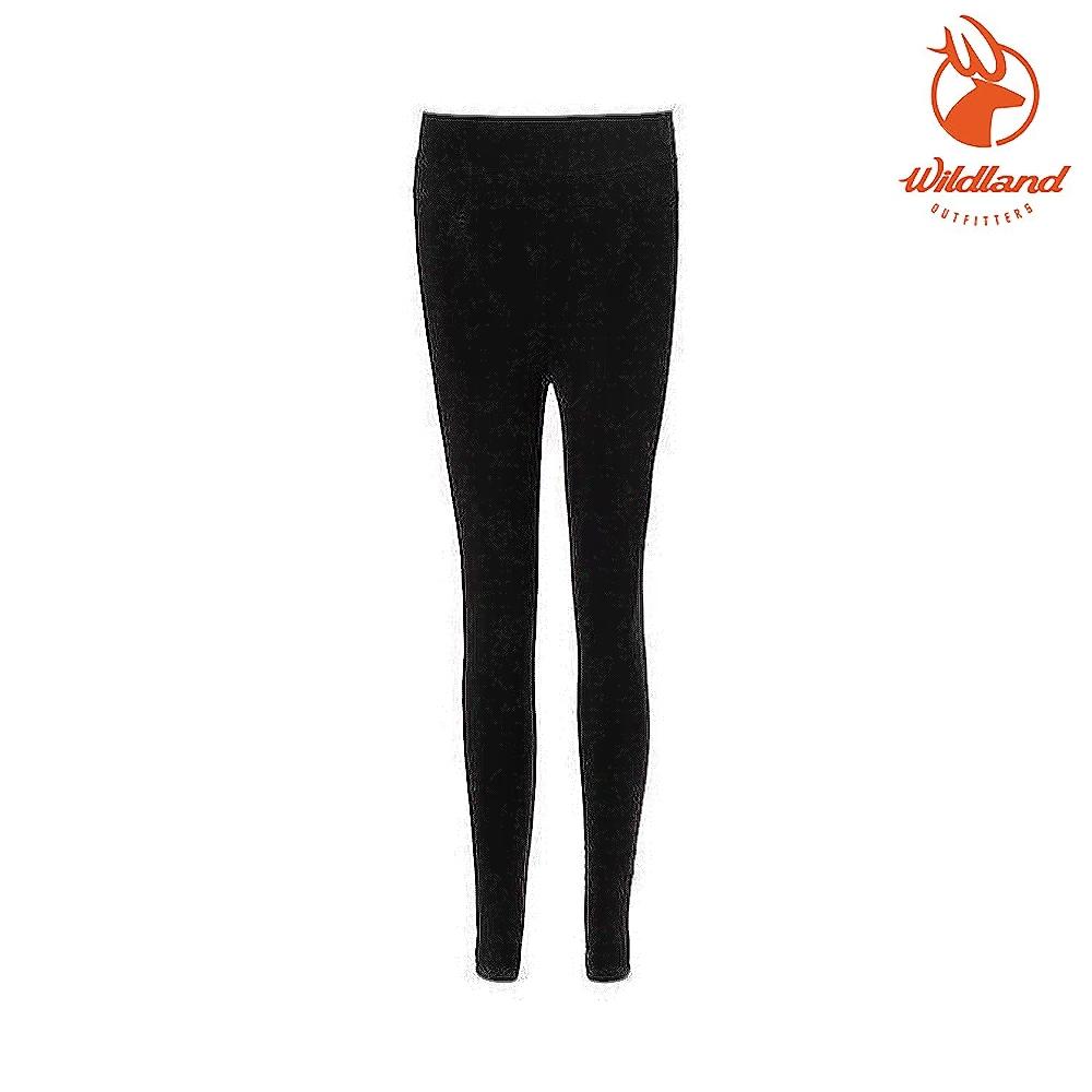 WildLand 中性收腿收腹提臀壓力褲W2659 黑色