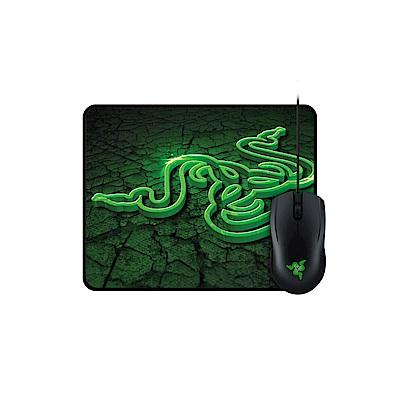 Razer 雷蛇 Abyssus 地獄狂蛇2000dpi+控制裂縫小鼠墊控制版