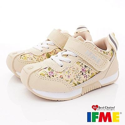 IFME健康機能鞋 小碎花運動款 EI71203米(小童段)
