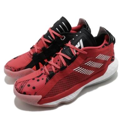 adidas 籃球鞋 Dame 6 J Geek Up 女鞋 海外限定 愛迪達 里拉德 NBA球星 紅 黑 FW4341