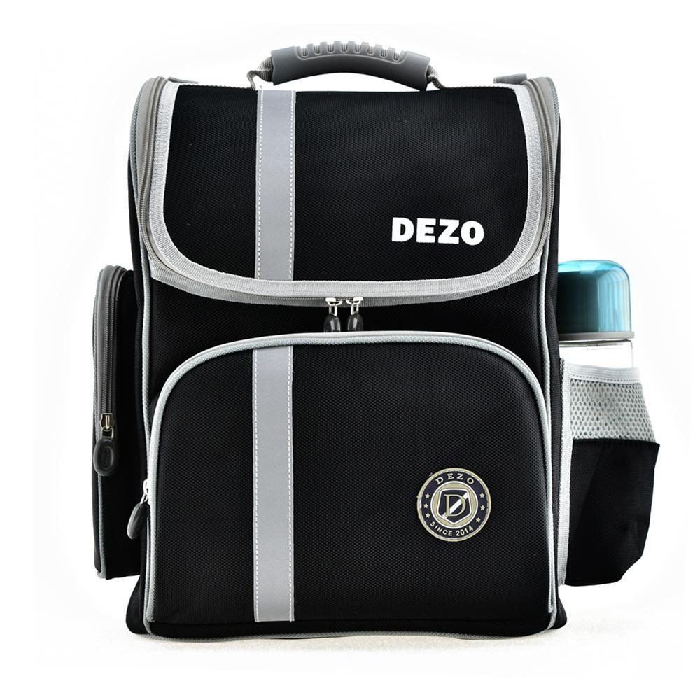 DEZO迪諾 立體護脊書包 黑色