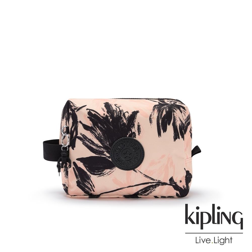 Kipling 珊瑚花潑墨方形配件包-PARAC