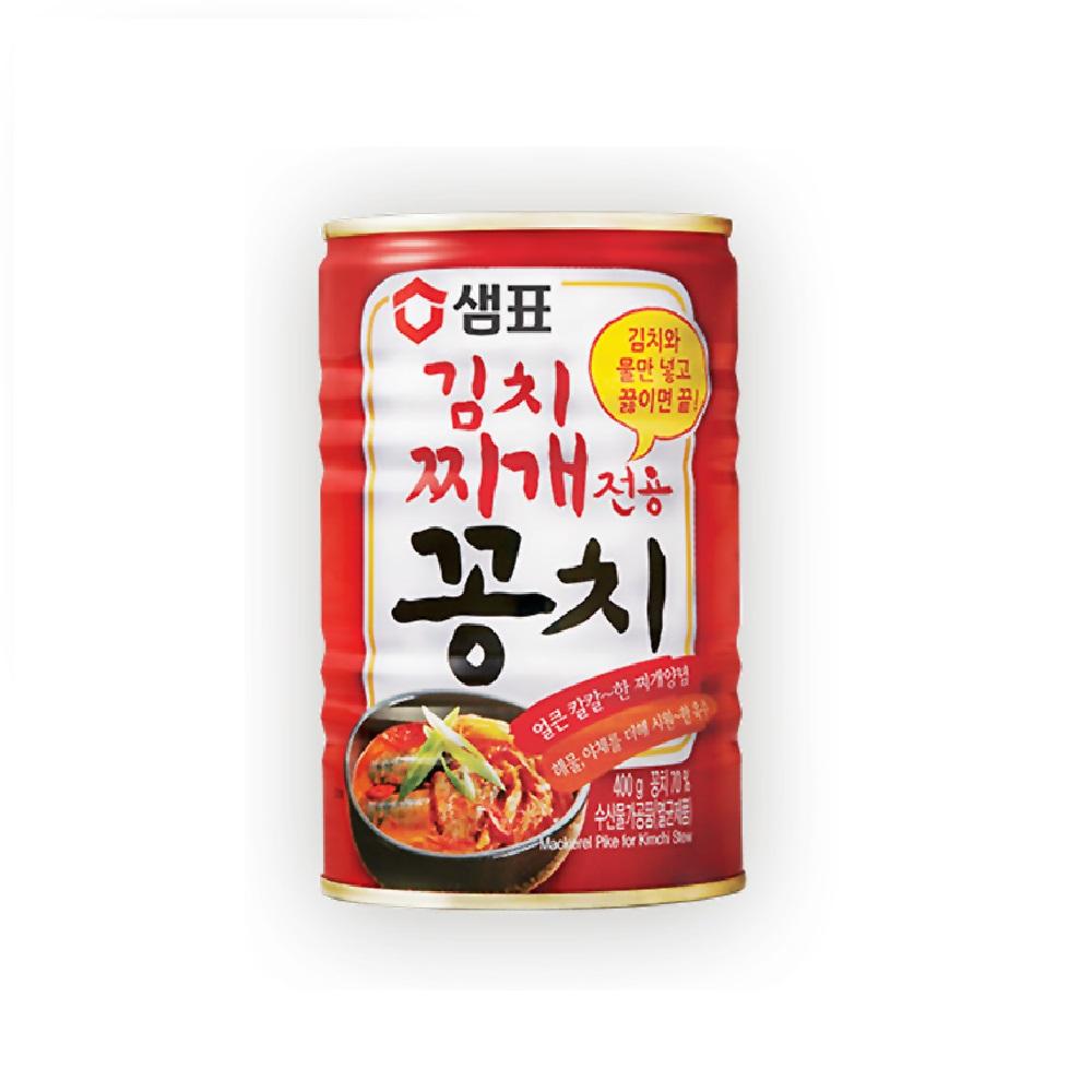 韓味不二 泡菜秋刀魚湯罐頭(400g)