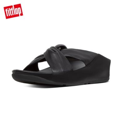 FitFlop TWISS SLIDES 涼鞋 黑色