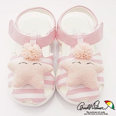 雨傘牌 小星星護趾學步涼鞋款 EI93805粉紅(小童段)