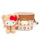 Hello Kitty聯名- 水桶包 SPOIL / 熊愛你系列-咖色 product thumbnail 1