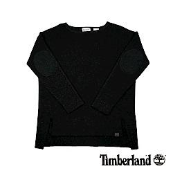Timberland 女款黑色平口長袖上衣|B2706
