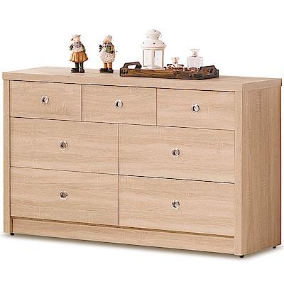 凱曼  愛蜜莉4尺橡木七斗櫃