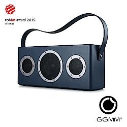 【GGMM】M4 攜帶型藍芽&Wifi皮質音響-月光藍