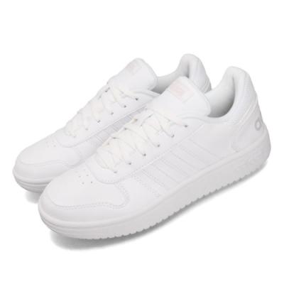 adidas 休閒鞋 Hoops 2.0 復古 低筒 女鞋