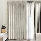 北歐精緻典雅柔紗窗簾130X240cm (2入 兩款)
